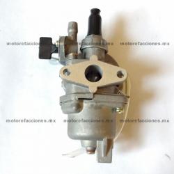 Carburador Completo Pocket 2T - 49cc (Cuba y Llave de Gas)
