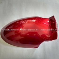 Salpicadera Delantera Posterior Italika DS125 / DS150 / XS150 / TS170 – Phantom R4, R5 - Adventure (Vino)
