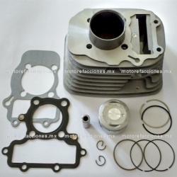 Kit de Cilindro 250cc (motor en V) - Vento V-Thunder / Colt - Yamaha Virago XV250 (Posterior)