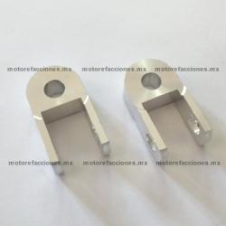 Extensiones Amortiguadores Motonetas - Italika - Vento - Dinamo (cromo)