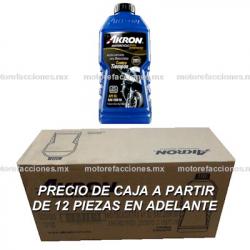 Aceite 100% Sintetico Akron Multigrado SAE 15W50 Tipo JASO MA2 - Especial Motos 4T (946 ml)