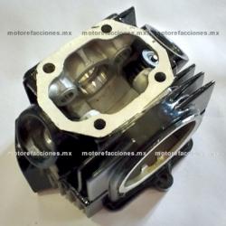 Cabeza de Cilindro Italika ST90 / DT90 c/ Valvulas (Negro)