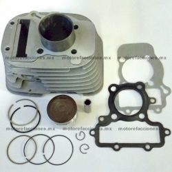 Kit de Cilindro 250cc (motor en V) - Vento V-Thunder / Colt - Yamaha Virago XV250 (Frontal)