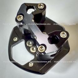 Base para Manubrio Aluminio Universal Motonetas (Negro)