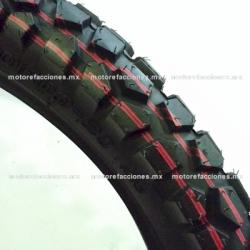 Llanta para Motocicleta 80/100-21 - (6 capas) Gajo Grande Cross