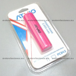 Cargador Portatil p/ Celular Portátil (rosa)