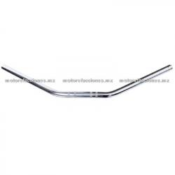 Manubrio Semi-Recto Universal 7/8 (22mm) - Cromo