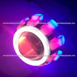 Foco Lupa Ojo de Demonio Luz Blanca Hiper-LED