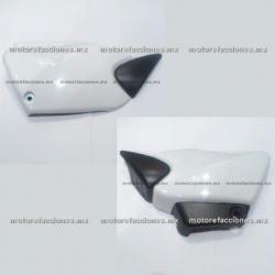 Cubiertas Laterales - Honda Cargo 125 (Blanco)