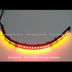 Tira Flexi-LED Cuartos / Stop / Direccionales ANIMADA de 30 cm - 12v