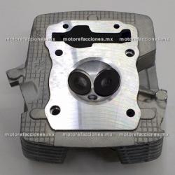 Cabeza de Cilindro Motocarro Dazon 200 - FT150 / FT150 GT - Custom Chinas 150cc (gris) - 1 Salida para Escape