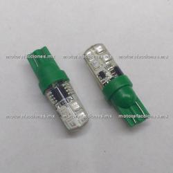 Foco Pellizco Estrobo Rojo Hiper-LED 12v - (Blister 2 pzas)