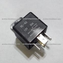 Relevador para Instalación de Alarma para el apagado desde Control (Switch de 4 Cables)