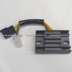 Regulador 5 puntas 2 conectores - Suzuki GN125 / EN125