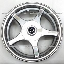 """Rin Trasero Italika Vitalia 125 / CS125 / XS125 - (10"""" de 5 Brazos)"""