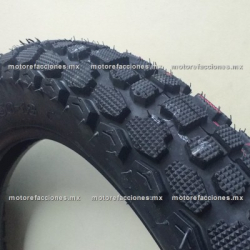 Llanta para Motocicleta 3.50-18 Gajo Grande - (6 capas)