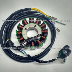 Estator 12 bobinas DC Italika 250Z (1 solo pistón)