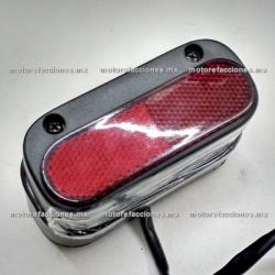 Reflejante c/ Luz para Placa Trasera para Motocicletas - Italika TC200
