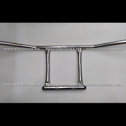 Manubrio tipo Harley Custom (choper) 7/8 (22mm) - Cromo