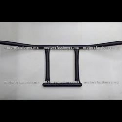 Manubrio tipo Harley Custom (choper) 7/8 (22mm) - Negro Mate
