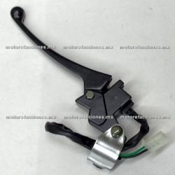 Manija Completa Izq Italika D125 / TRN150 / TRN175 (negro)