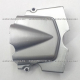 Tapa Carter Trasera Izquierda - Italika FT125 / FT150 / FT150GT (gris)