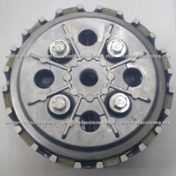 Clutch Completo c/ Cremallera Vento V-Thunder / Colt - QLink Adventure 250