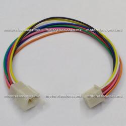 Arnes c/ Conector - 9 Cables - Hembra y Macho