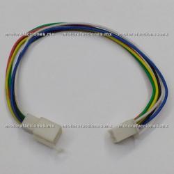 Arnes c/ Conector - 6 Cables - Hembra y Macho
