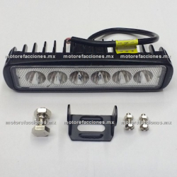 Jgo. Faro Auxiliar Hiper-LED (6 Unidades Horizontal)
