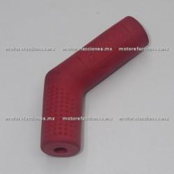 Protector de Goma Rojo para Pedal (Protector de Zapato)