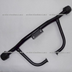 Defensa Linea Z c/ Slider - (Negro Mate)