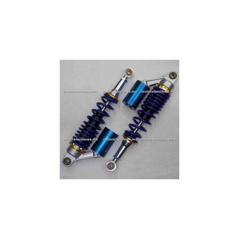 8a4753a4baa Amortiguadores Traseros Cortos 250 Motos Custom - Dinamo - Toromex (motor  en línea)