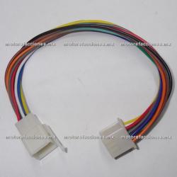 Arnes c/ Conector - 12 Cables - Hembra y Macho