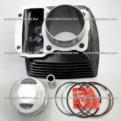 Kit de Cilindro Motocicleta - Italika FT180 (negro)