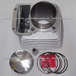 Kit de Cilindro Italika EX200 / RT200 - Rebellian 200 (gris)