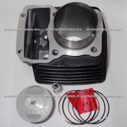 Kit de Cilindro Italika 125Z (negro)