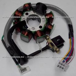 Estator 8 bobinas AC - Bajaj Boxer 150