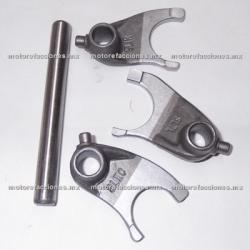 Kit de Levas del Sincronizador o Tambor Selector c/ Eje - Honda CGL-125 Tool