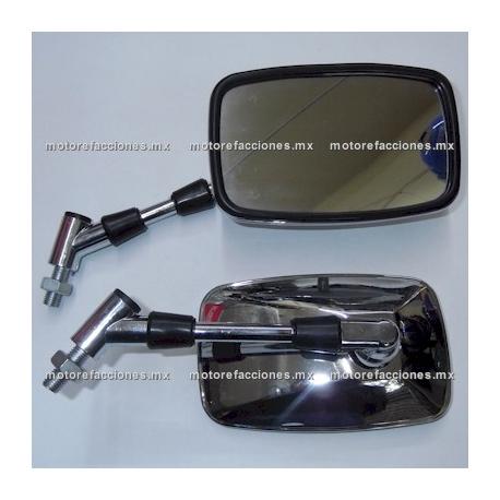 Espejos Cromados Grandes Ractangulares Custom (10mm)