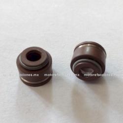 Sellos (retenes) de Valvula Motoneta (par) - Italika DS150 / GS150