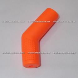 Protector de Goma Naranja para Pedal (Protector de Zapato)