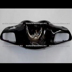 Antifaz de Manubrio Motoneta Italika XS150 - Vento Phantom R3, R4, R5 (Negro Brillante)