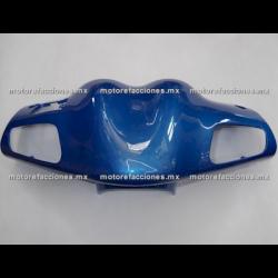 Antifaz de Manubrio Motoneta Italika XS150 - Vento Phantom R3, R4, R5 (Azul)