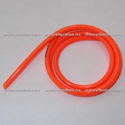 Manguera de Aire / Gasolina Naranja - (Tramo 1m)