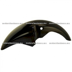 Salpicadera Delantera Motocicleta Honda Cargo 150 (Negro)