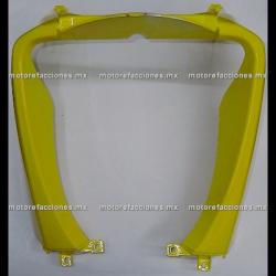 Cubierta Frontal Inferior (panel o encarenado) Motoneta Italika WS150 (Amarillo Liso)