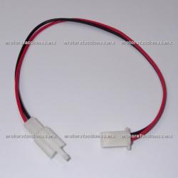 Arnes c/ Conector - 2 Cables - Hembra y Macho