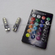 Foco Pellizco 6 LED RGB 12v c/ Control - (Blister 2 pzas)
