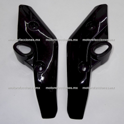Cubiertas de Faro Yamaha FZ16 / FZs - (negro) - Par